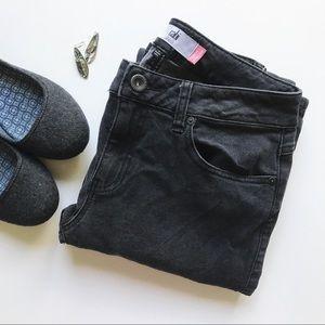 Grey CAbi Curvy Slim Bootcut Stretchy Denim Jeans